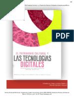 Patrimonio cultural y tecnologías digitales