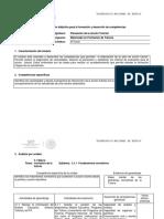 Instrumentación didáctica.  Módulo III_Planeación de la acción tutorial