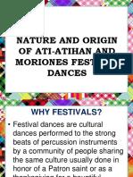 Nature and Origin of Festival Dances