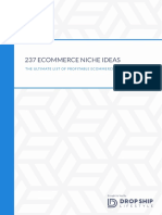 237 Niches Products posibles