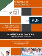 Inteligencia Emocional en Sistemas de Salud