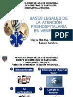 Bases Legales de La Medicina Pre Hospitalaria