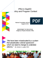 Iped in Deped Policy and Program Context (2)