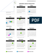 Calendario Laboral Vizcaya 2019