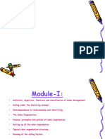 Mod 1Sales Distribution Management Course PPT Ppt