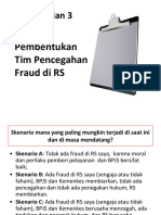 6. Usulan Pembentukan Tim Pencegahan Fraud Di RS