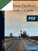 El Ruido y La Furia - William Faulkner