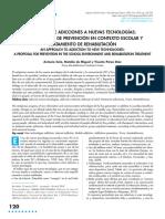 Abordaje de Adicciones a Nuevas Tecnologías. Una Propuesta de Prevención en Contexto Escolar....Soto-2018