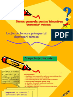 Prezentare Lectia a 3a Aplicatii Desen