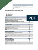 Rúbrica - Evaluación Compañero