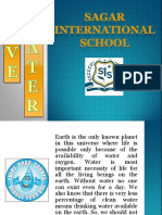 Save Water - Sagar International School