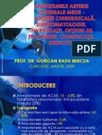Anevrismele de ACM- Neurochirurgie EMC