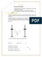 Practica n 2 Condicones de Equilibrio Fisica