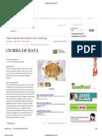 CIORBA DE RATA