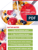 Strawberry Food Berries Milk Food PPT Templates Widescreen