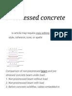Prestressed Concrete - Wikipedia