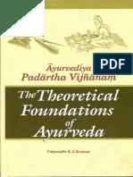 Ayurveda Padartha Vigyana Theretical Foundations of Ayurveda Kannan K.S._text.pdf
