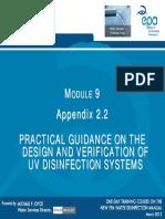 Module 8 Practical Guidance UV Disinfection M Joyce 23032012