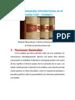 Nociones Generales Introductorias en El Derecho Civil - Unidad I