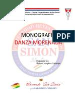 MONOGRAFIA FRATERNIDAD FOLKLORICA Y CULTURAL REYES MORENOS DE SAN SIMON