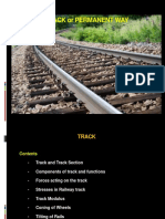 Railway Engineering-3c- Permanent Way- Track & Track Stresses