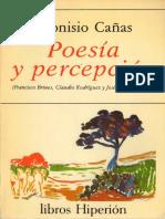cañas dionisio - poesia y percepcion.pdf