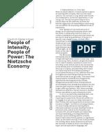 Diedrich Diederichsen_People of Intensity People of Power - The Nietzsche Economy