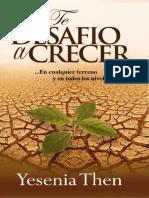 Preview of Te Desafio a Crecer en Cualquier Terreno y en Todos Los Niveles Spanish Edition