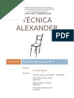 Técnica Alexander
