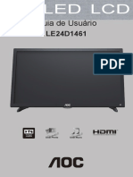 Manual Usuario LE24D1461 - AOC