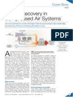 Energy Recovery in Compressed Air Systems