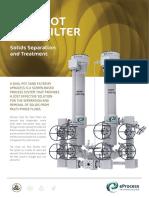 Sand Filter Brochure