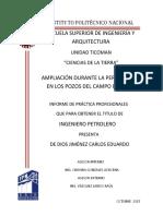 Ampliación durante la perforación en los pozos del campo bricol.pdf