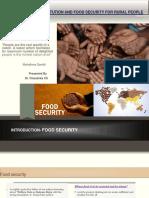 Dr.chandrika- Presentation Food Security