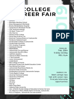 REL College Career Fair Flyer 2019 Parents