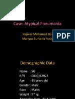 PCI Hosp.putrajaya(Atypical Pneumonia)