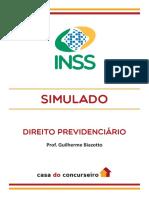 Simulado Inss Guilherme Biazotto