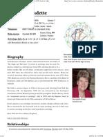 Astro-Databank Bernadette Brady