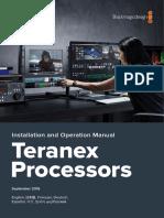 Teranex Manual