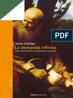 CRITCHLEY - La demanda infinita (Introducción y Cap I).pdf