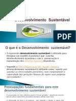 desenvolvimento sustentabilidade