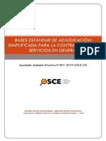 Bases Estandar as Servicios en Gral_2019