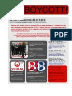 BOYCOTT! Newsletter 3.10.10-16.10.10