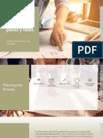 Gestión de Proyectos 5pasos y Fases
