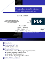 Attacking WiFi With Traffic Injection Cedric Blancher