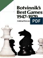 Botvinnik_Botvinnik's Best Games 1947-1970(1972)