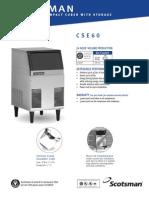 Scotsman CSE60-1A Ice Maker 3243721