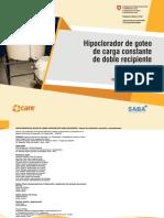 MANUAL Hipoclorador de Goteo Doble Recipiente-digital