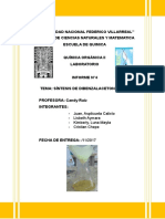 informe-4organica2-dibenzalacetona