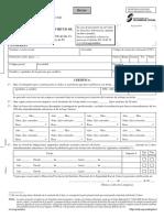 Formulario Certificado Jubilacion Anticipada